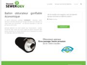 screenshot http://obturateur-de-canalisation.fr obturateur