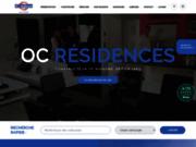 screenshot http://www.oc-residences.fr/ constructeur oc résidences