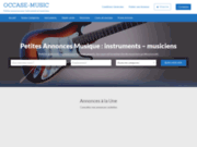 screenshot Http://www.occase-music.com occase-music