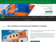Ocebloc container : transformateur de containers