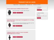 screenshot http://www.oclock.fr oclock, déménagement d'entreprise sur paris 75