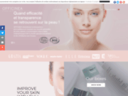 screenshot http://www.officinea.fr officinea cosmétiques bio d'exception
