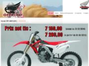 screenshot http://www.offroad-moto.com vente pièces détachées moto cross à longlier