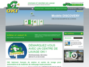 screenshot http://www.oki-clean.com Station de lavage
