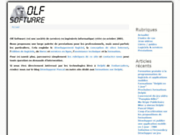 screenshot http://www.olfsoftware.fr olf software
