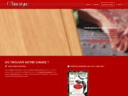 screenshot http://www.olimousine.fr vente directe de colis de viande bovine bio