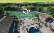 screenshot http://www.oliveraiedepaul.com/gites.html chambres d'hôtes