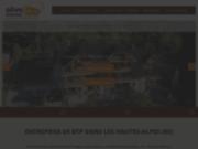 screenshot http://www.olivetravaux.fr maçonnerie