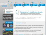 screenshot http://www.omnium-conseils.fr/ omnium conseils - assistance informatique