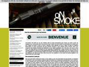 screenshot http://www.on-smoke.fr Boutique de cigarettes électroniques