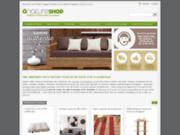 screenshot http://www.onature.net onature, canapés et mobilier écologiques