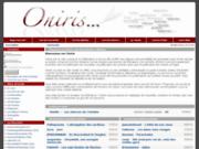 screenshot http://oniris.rasquinet.be oniris - lire, écrire des nouvelles, poésies ou romans