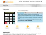 screenshot https://online-calculator.info/ CALCULATRICE