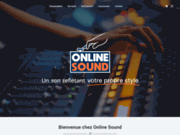 screenshot http://www.online-sound.fr mastering