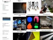screenshot http://www.onoffproject.com/ artisan luminaire