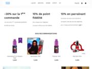 screenshot https://www.onoris.fr/ Cigarette électronique