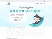 screenshot http://www.onsenoccupe.fr conciergerie