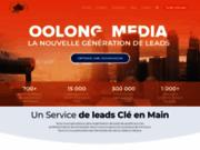 screenshot http://oolongmedia.ca Création de site Internet