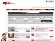 Annonces immobilières avec Opiki