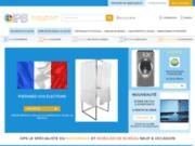 screenshot http://www.ops.fr vente en ligne de matériel de manutention neuf ou occasion