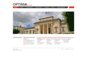 screenshot http://www.optima-avocats.fr/ optima avocats: cabinet d'avocats à saintes, royan