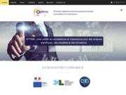 screenshot http://www.optima-europe.com enquête, analyse de données statistiques