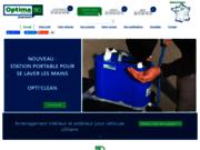 screenshot http://www.optima-system.fr Optima System Aménagement de véhicule utilitaire et fourgon