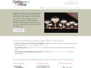 screenshot http://www.optimoffice.fr télé secrétariat optim office