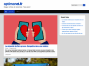 screenshot http://www.optimonet.fr webmarketing
