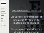 screenshot http://www.optiquedulion.com optique du lion