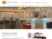 screenshot https://www.optiquejeanjaures.com/ opticien