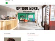 screenshot http://www.optiquemorel.com/ Lunettes de vue