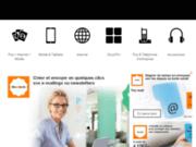 screenshot http://www.orangepro.fr Orange professionnel