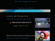 screenshot http://www.organitou.fr clown magicien brest finistere contes bretagne