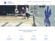 screenshot https://www.orgeresambulances.com/ transport médical en VSL et ambulances, taxi dans l'Eure et Loir 28