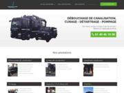screenshot http://www.oriad-idf.fr débouchage de canalisation - barteau assainissement