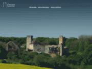 screenshot http://www.oricourt.com château médiéval d'oricourt