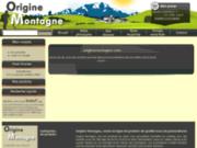 screenshot http://www.originemontagne.com vente en ligne de viande bovine direct producteur