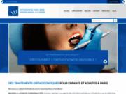 screenshot http://www.orthodontie-paris15.fr cabinet d'orthodontie - paris 15ème