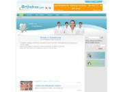 screenshot http://orthofree.com/ site de communication et d'information en orthopéd