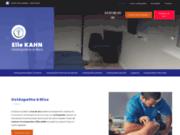 Ostéopathe Elie Kahn à Nice