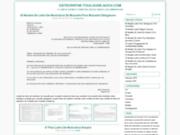 screenshot http://www.osteopathe-toulouse-auch.com cabinet d'ostéopathie d.o - toulouse et auch 7j/7