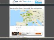 screenshot http://www.osteopathe.com osteopathes en france