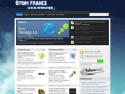 screenshot http://www.otium-france.net otium france, le blog informatique