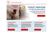 screenshot http://www.otolift.com/fr monte-escaliers d'otolift - otto ooms