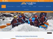 screenshot http://www.ouedsrios.com rafting et  sports d'eau-vive dans les alpes du su