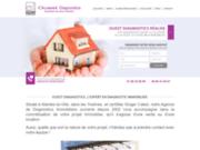 screenshot http://www.ouestdiagnostics-mantes.com diagnostics immobiliers en Yvelines