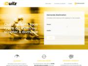 screenshot http://ouilz.com Rachat de scooter et moto à Paris
