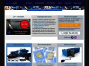 screenshot http://www.outremertransit.com déménagement et transport maritime de véhicules