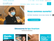 screenshot http://www.ovarium.com ovarium, le summum du bain flottant et du massage